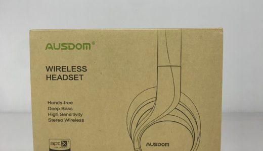 AUSDOMの密閉型Bluetoothヘッドホン「AH3」をレビュー